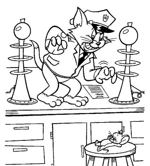 Eva tặng bé bộ tranh tô màu Tom&Jerry - 5