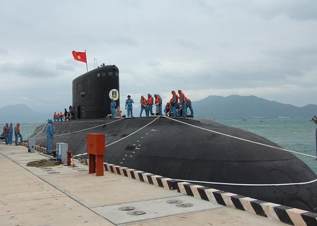 Bộ ba 'lá chắn biển' của Hải quân Việt Nam năm 2017