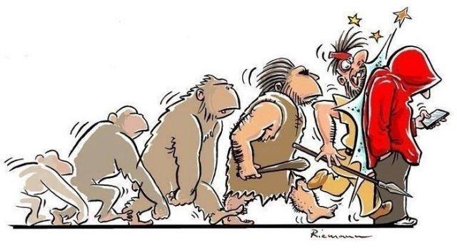 Con người thời hiện đại, không còn ngẩng cao đầu nữa mà đã cắm mặt vào smartphone!