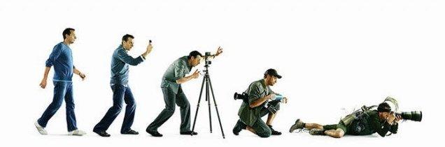 Sự tiến hoá của nghề chụp ảnh!